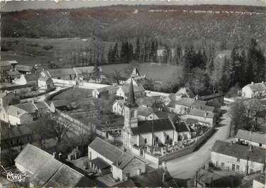 """CPSM FRANCE 21 """"Tarsul, L'Eglise et le centre du village, vue aérienne"""""""