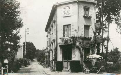 """/ CPSM FRANCE 77 """"Bourron Marlotte, hôtel de la Mare aux Fées"""""""