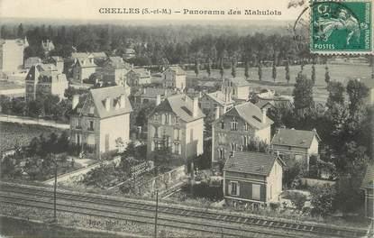 """/ CPA FRANCE 77 """"Chelles, panorama des Mahulots"""""""