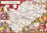 16 Charente CPSM FRANCE 16 / Département de la Charente