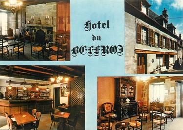 "/ CPSM FRANCE 15 ""Salers, hôtel du Beffroi"""