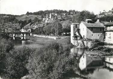 """/ CPSM FRANCE 15 """"La Roque Brou, le moulin et le parc"""""""