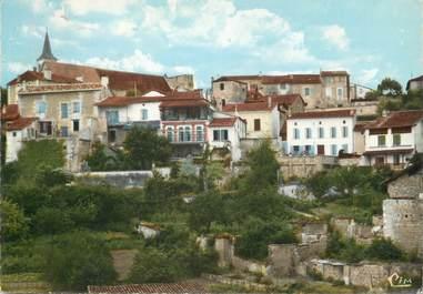 """/ CPSM FRANCE 16 """"Aubeterre sur Dronne, vue sur la rue Saint Jacques"""""""