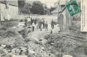 """76 Seine Maritime / CPA FRANCE 76 """"Elbeuf, ravages causés par l'orage du 30 juin 1908,  la cavée des Ecameaux"""""""