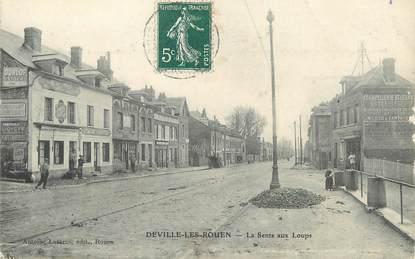 """/ CPA FRANCE 76 """"Deville les Rouen, la Sente aux Loups"""""""