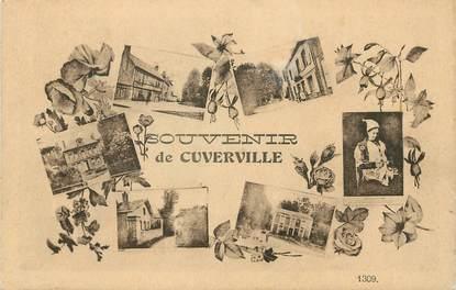 """/ CPA FRANCE 76 """"Souvenir de Cuverville"""""""