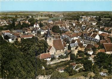 """CPSM FRANCE 03 """"Ainay le Chateau, vue aérienne"""""""