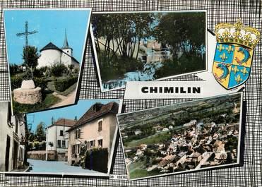 """CPSM FRANCE 38 """"Chimilin"""" / Vues de la commune"""