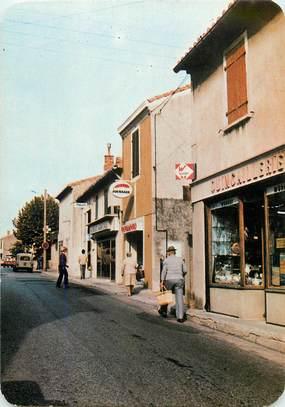 """CPSM FRANCE 13 """"Chateaneuf les Martigues, l'avenue du 4 septembre"""""""