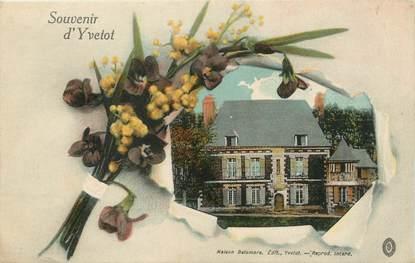 """/ CPA FRANCE 76 """"Souvenir d'Yvetot """""""