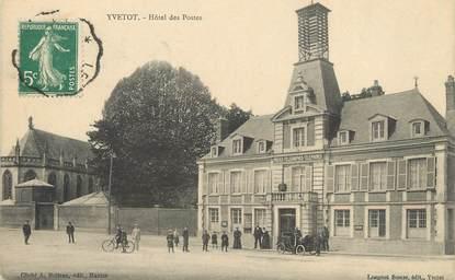 """/ CPA FRANCE 76 """"Yvetot, hôtel des postes """""""