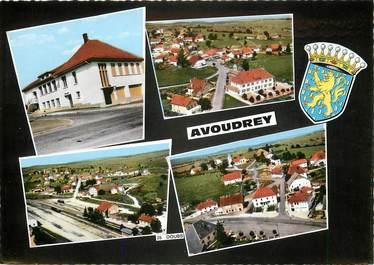 """CPSM FRANCE 25 """"Avoudrey"""" / Vues de la ville"""