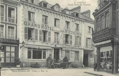 """/ CPA FRANCE 76 """"Yvetot, grand hôtel des Victoires"""""""