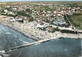 """17 Charente Maritime / CPSM FRANCE 17 """"Chatelaillon, la plage et le camping"""""""