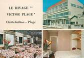 """17 Charente Maritime / CPSM FRANCE 17 """"Chatelaillon, le rivage, Victor Plage"""""""