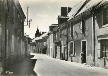 """CPSM FRANCE 53 """"Saint Denis d'Anjou, rue principale"""""""
