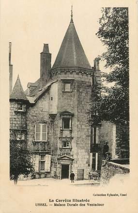 "CPA FRANCE 19 ""Ussel, maison ducale"""