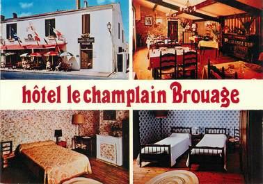 """/ CPSM FRANCE 17 """"Brouage, hôtel Le Champlain"""""""