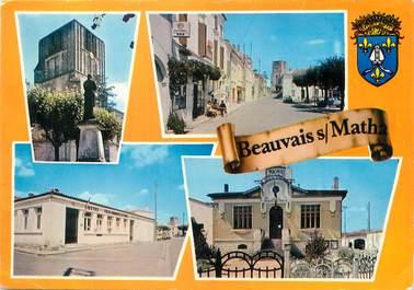 """/ CPSM FRANCE 17 """"Beauvais sur Matha"""""""