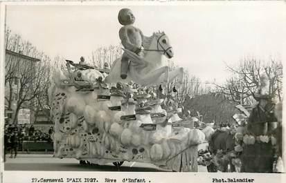 """CPA FRANCE 13 """"Aix en Provence, Carnaval 1937, rêve d'enfants"""""""