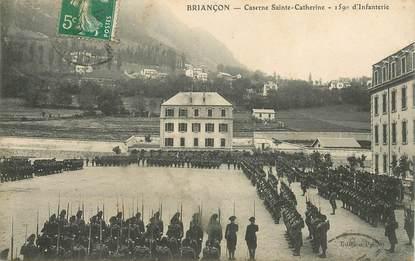 """CPA CHASSEUR ALPIN """"Briançon, caserne Sainte Catherine"""""""
