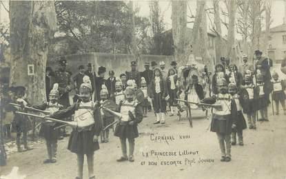 "CARTE PHOTO FRANCE 13 ""Aix en Provence, Carnaval"""