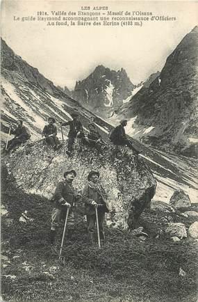 """CPA CHASSEUR ALPIN """"Vallée des Etançons, Massif de l'Oisans"""""""