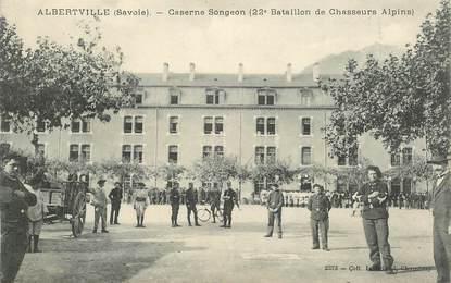 "CPA  CHASSEUR ALPIN "" Albertville, Caserne Songeon"""