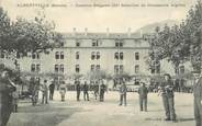 "Militaire CPA  CHASSEUR ALPIN "" Albertville, Caserne Songeon"""