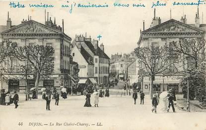 "CPA FRANCE 21 ""Dijon, rue Chabot Charny"""
