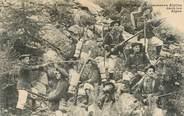 """Militaire CPA  CHASSEUR ALPIN """"Dans les Alpes"""""""