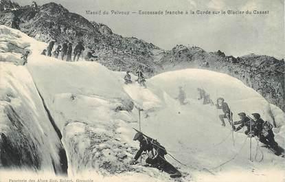 "CPA  CHASSEUR ALPIN ""Massif du Pelvoux"""