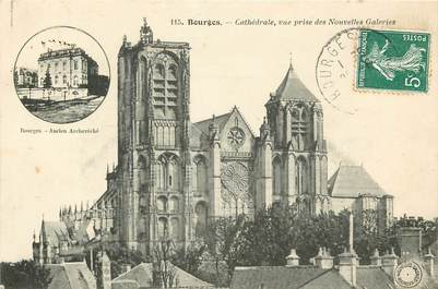 "CPA FRANCE 18 ""Bourges, cathédrale"""