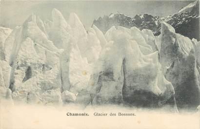 """/ CPA FRANCE 74 """"Chamonix, glacier des Bossons"""""""