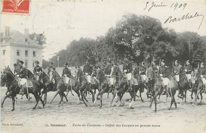 """CPA FRANCE 49 """"Saumur, Ecole de Cavalerie"""""""