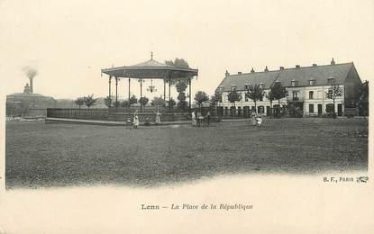 """/ CPA FRANCE 63 """"Lens, la place de la République"""""""