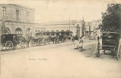 """/ CPA FRANCE 54 """"Nancy, la gare"""""""