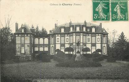 "CPA FRANCE 89 ""Chateau de Charny"""