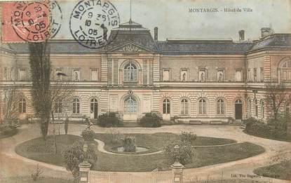 """CPA FRANCE 45 """"Montargis, Hotel de ville"""""""