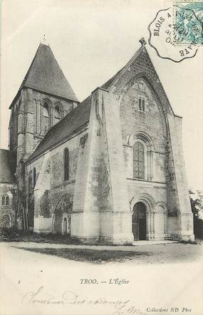 "CPA FRANCE 41 ""Trôo, L'Eglise"""