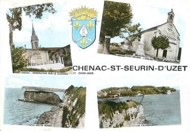 """/ CPSM FRANCE 17 """"Chenac Saint Seurin d'Uzet"""""""