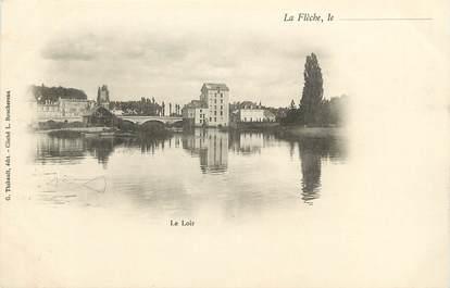 """CPA FRANCE 72 """"La Flèche, le Loir"""""""