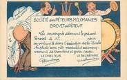"""Theme CPA SCATOLOGIE """"Société des Pêteurs mélomanes"""" / HUMOUR"""