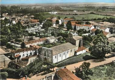 "/ CPSM FRANCE 17 ""Matha, église Saint Hérie"""