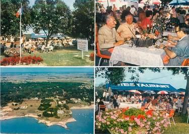 """/ CPSM FRANCE 17 """"Meschers, restaurant La Taverne Charentaise"""""""