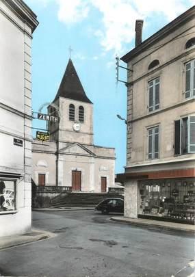 """/ CPSM FRANCE 17 """"Montendre les Pins, l'église"""""""