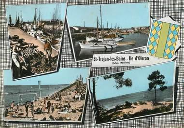 """/ CPSM FRANCE 17 """"Ile d'Oléron, Saint Trojan Les Bains"""""""