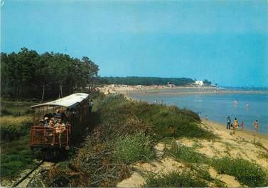 """/ CPSM FRANCE 17 """"Ile d'Oléron, Saint Trojan, le petit Train"""""""