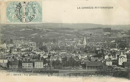 """CPA FRANCE 19 """"Brive, vue générale"""" / La Corrèze pittoresque"""