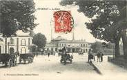 """51 Marne /  CPA FRANCE 51 """"Epernay, la gare"""""""